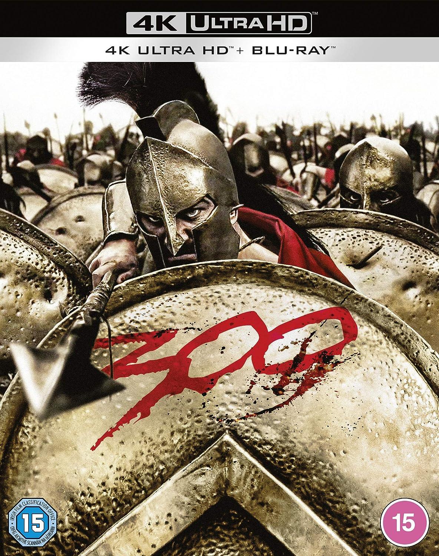 300 4K [Blu-Ray] [Region Free] (Audio español. Subtítulos en español)
