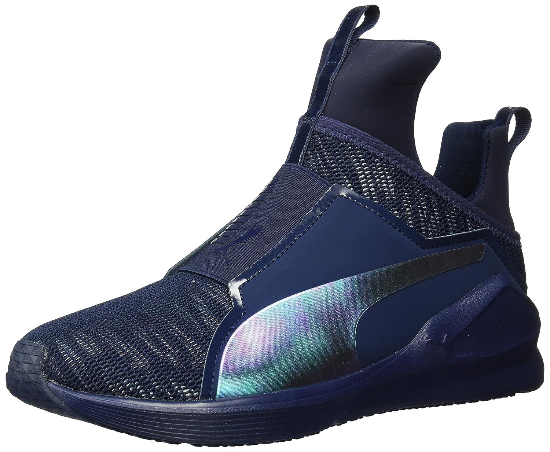 PUMA Women's Fierce Oceanaire Wn Sneaker B07528M3K3 6 B(M) US|Peacoat-peacoat