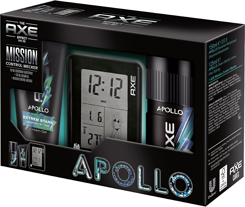 Axe Apollo Pack de regalo con desodorante Spray, Styling Gel ...