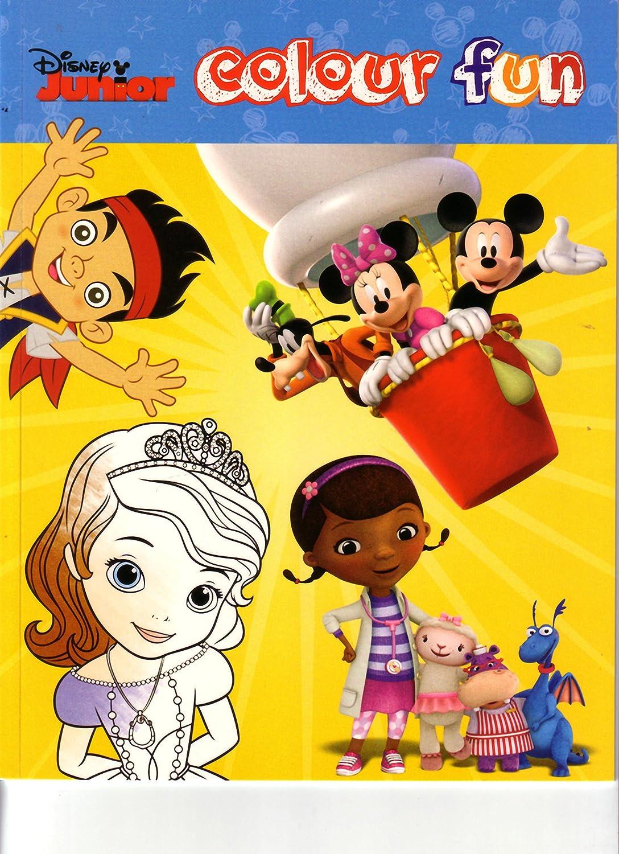 Disney Junior Malbuch Jake, Prinzessin, Mickey und Minnie: Amazon.de ...