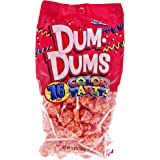 Orange Dum Dums Color Party - Orange Flavored - 75 Count Bag - 12.8 ounces - Includes Free How To Build a Candy Buffet Guide