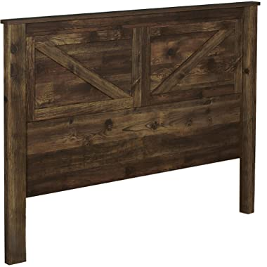 Ameriwood Home Farmington, Queen Headboard, Rustic