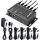 DuaFire IR Repeater, Infrared Remote Control Extender IR Kit Blaster System Cable Box for TV and Home Entertainment Theater