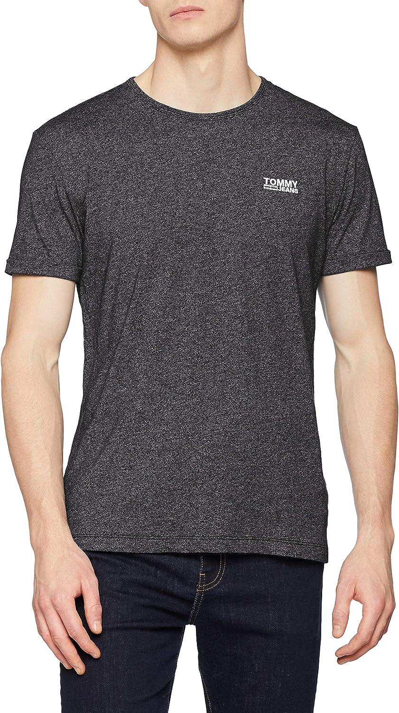 Tommy Jeans Hombre Modern Jaspe  Camiseta Manga Corta