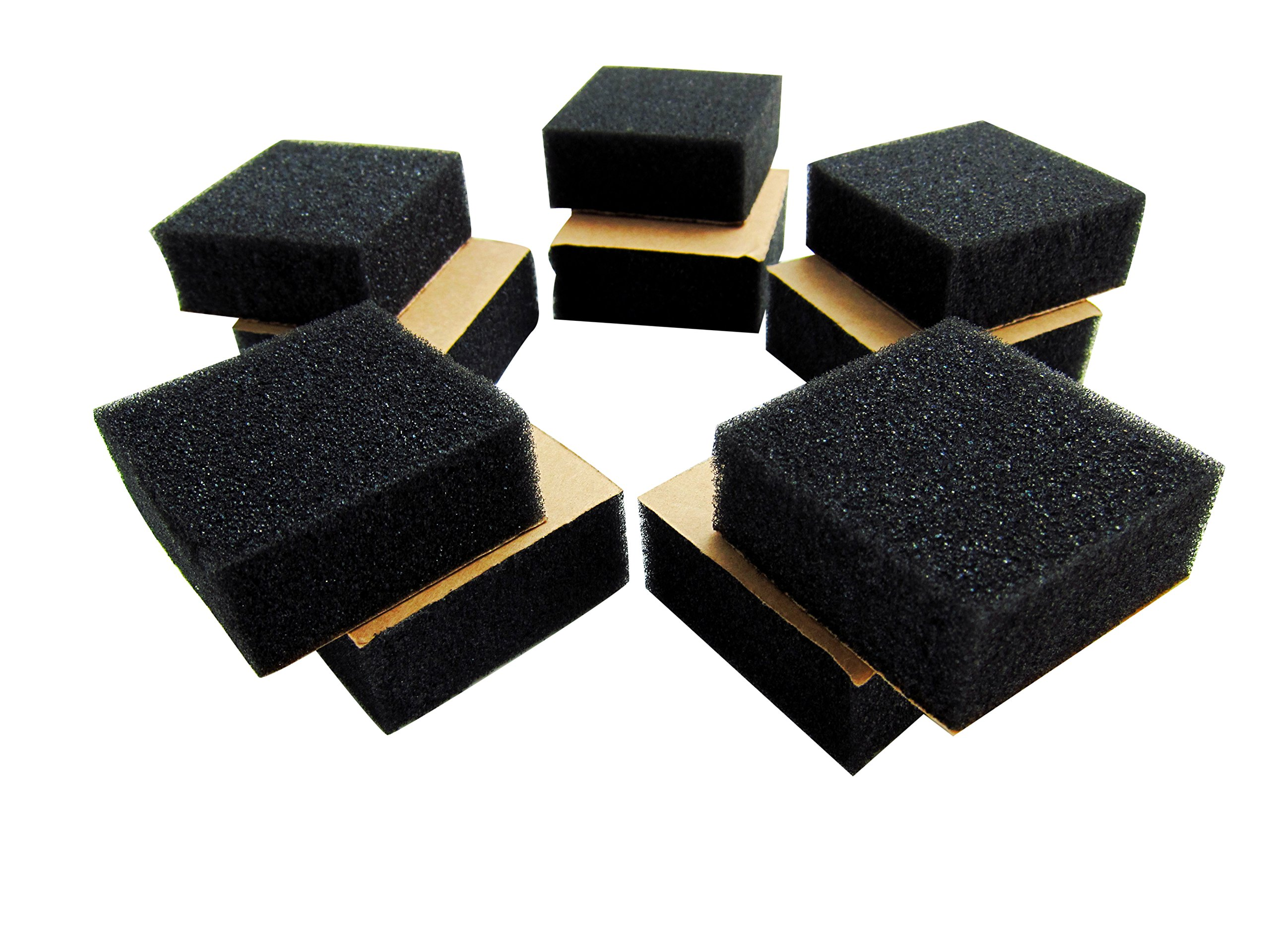 Goedrum Foam Pack 20mm Thick - Drum Trigger Cushion for DIY (One Adhesive Side)