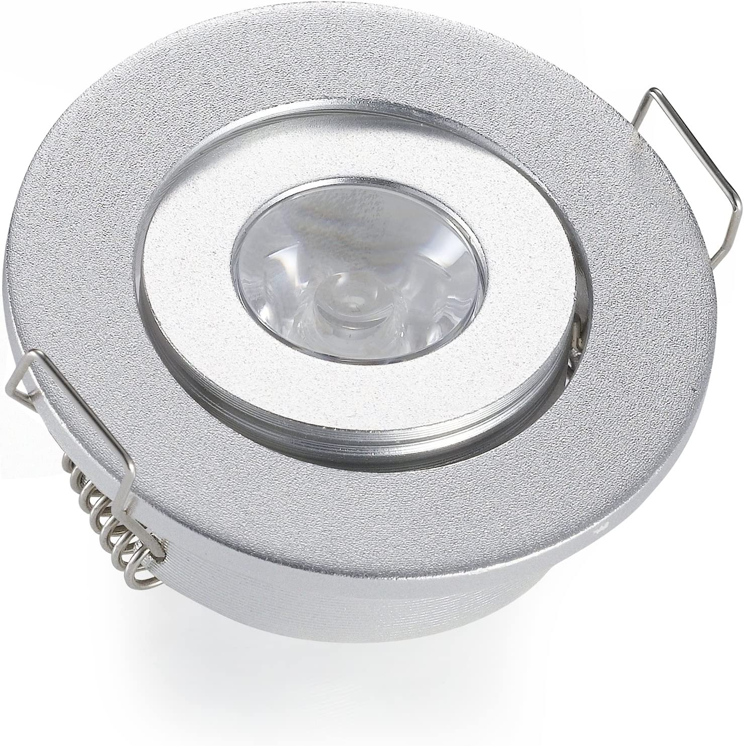 LED Furniture Light Fixture 3W 12V Spotlight Spot Flat Recessed Spotlight Lamp Light
