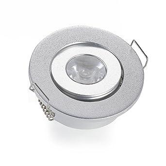 Lot de 1 Mini Petit plafonnier Spot encastrable LED Plafond Spot encastré  Lampe 3 W b860965b05dd