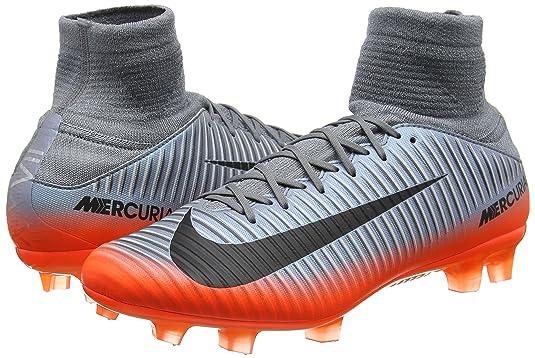 67f9562f1f4a Amazon.com | Nike Mercurial Veloce III DF CR7 FG 852518-001 Grey/Hematite  Men's Soccer Cleats | Soccer