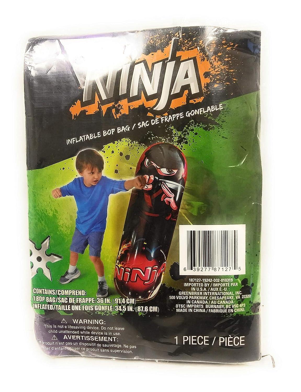 Amazon.com: TBP Ninja Inflatable Bop Bag Indoor or Out Door ...