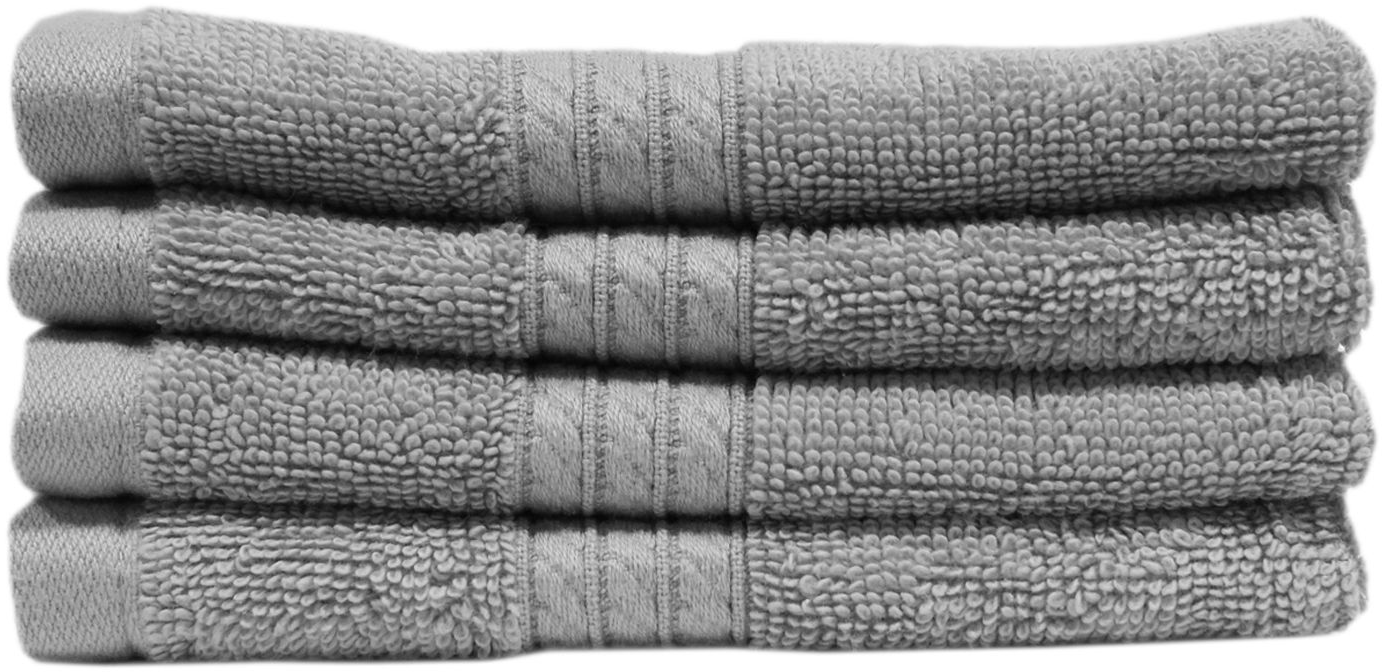 "100% Cotton Luxury 2 Pack Washcloth 13"" x 13"" (Assorted Colors) - Sam's Club"