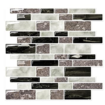 Fine 12X24 Ceramic Tile Huge 2 X 6 Subway Tile Regular 2X4 Subway Tile Backsplash 4 X 6 Subway Tile Young Accent Ceramic Tile BlueAfrican Slate Ceramic Tile Amazon.com: Backsplash Tile Stickers For Kitchen \u0026 Bathroom   Peel ..