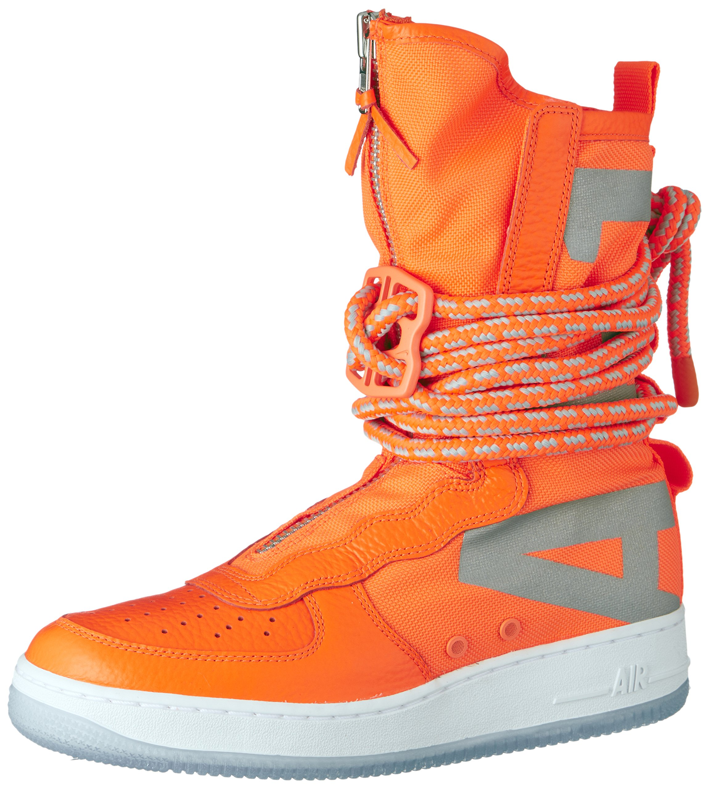 new arrival adc48 f9fb5 Galleon - Nike SF Air Force 1 High Top Mens Boots Total Orange White Aa1128-800  (11.5 D(M) US)