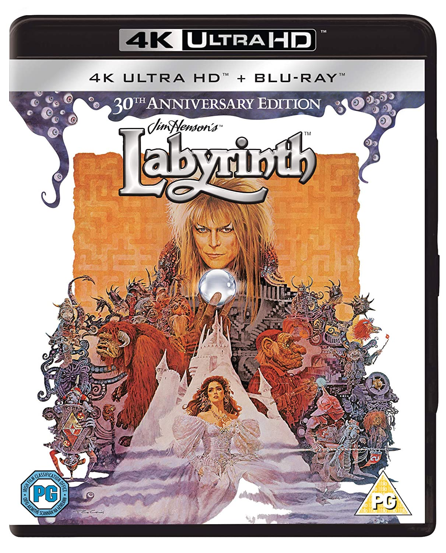 Labyrinth [Blu-ray]: Amazon.es: David Bowie, Jennifer ...