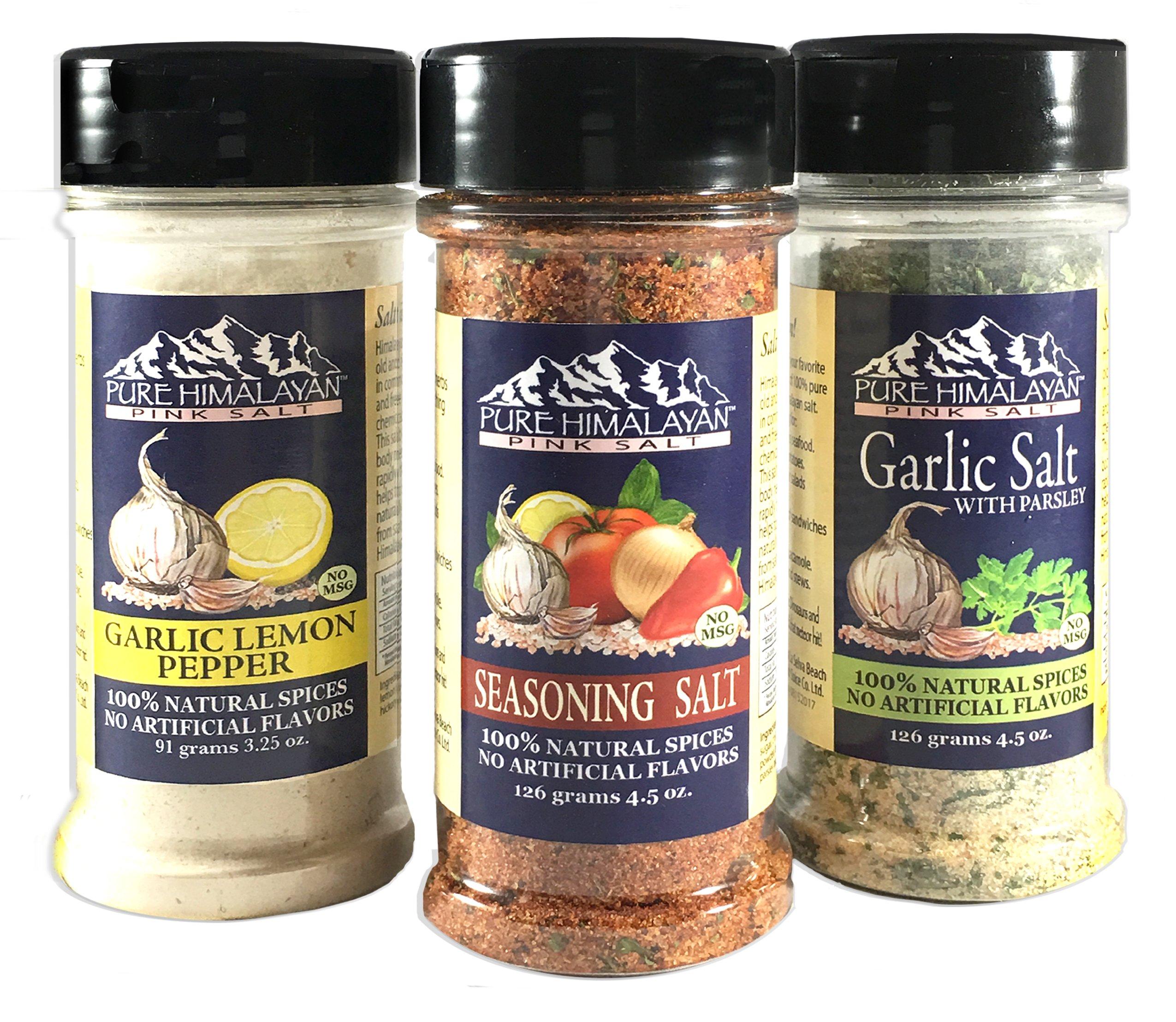 100% All Natural Spice Blends - Set of 3