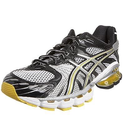 ASICS Men s Gel Kinsei 3 Running Shoe Black Silver Yellow T937N9093 14 UK b477951c39