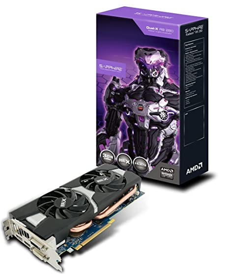 Amazon.com: Sapphire Radeon R9 280 3 GB GDDR5 DVI-I/DVI-D ...