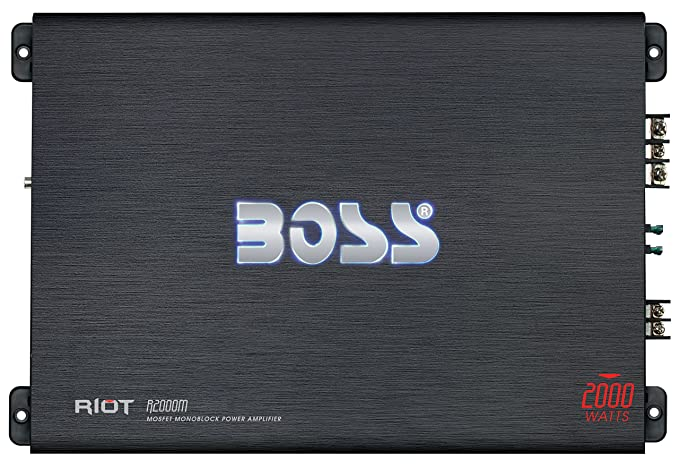 1. BOSS Audio R2000M - Riot