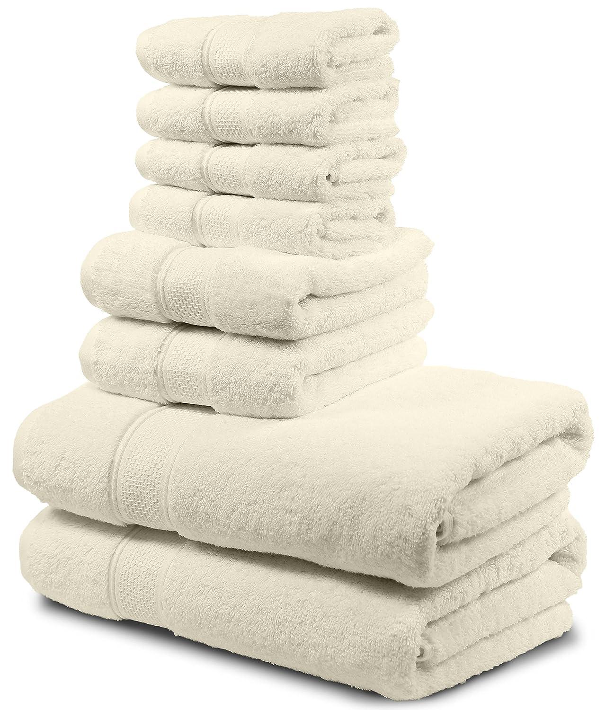 Amazon Com Luxury Bath Towel Set Hotel Spa Quality 2 Large Bath