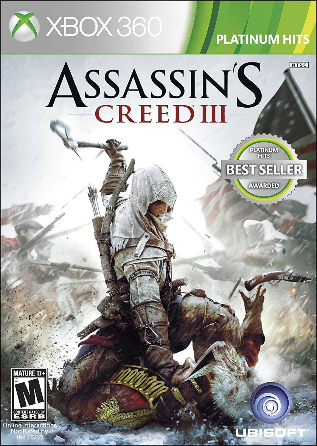 Amazon Com Assassin S Creed Iii Ubisoft Video Games