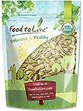 Organic Pepitas / Pumpkin Seeds by Food to Live (Raw, No Shell, Kosher) — 8 Ounces