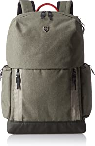 Victorinox Altmont Classic Deluxe Laptop Backpack with Bottle Opener, Olive, 18.9-inch