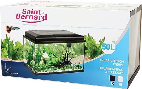 SAINT BERNARD San Bernardo Acuario Equipe para acuariofilia 55 cm 50 L