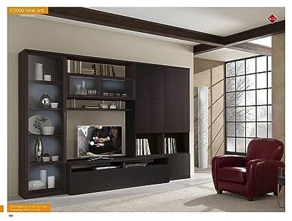 amazon com st 3000 wall unit wenge home kitchen rh amazon com