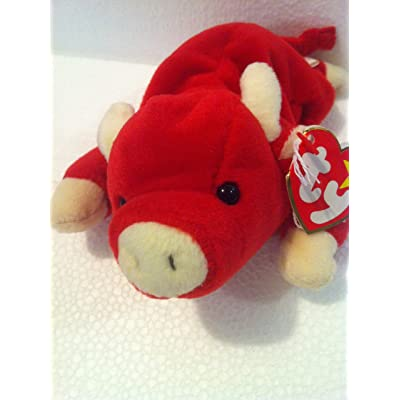 Ty Beanie Babies Snort - Bull: Toys & Games