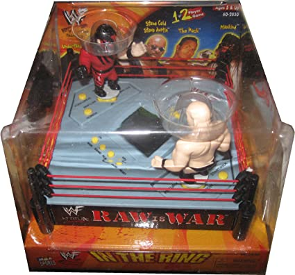 Amazon Com Wf In The Ring Raw Is War By Mga Sports Toys Games