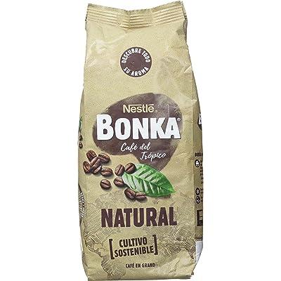 Bonka - Café Tostado Grano Natural - Pack de 2 x 500 g