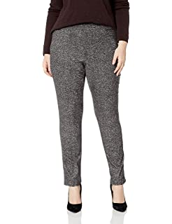 b0f0f258320 Briggs Women s Plus-Size Super Stretch Millennium Welt Pocket Pull on  Career Pant