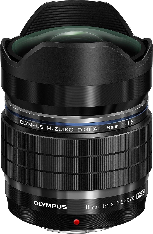 Olympus EF-M0818 Pro - Objetivo para cámara réflex (8 mm, Digital ...