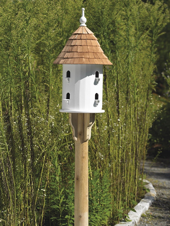 amazon com lazy hill farm designs 41401 bird house white solid
