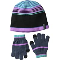 Columbia Youth Hat and G Guantes, niñas, Multicolor