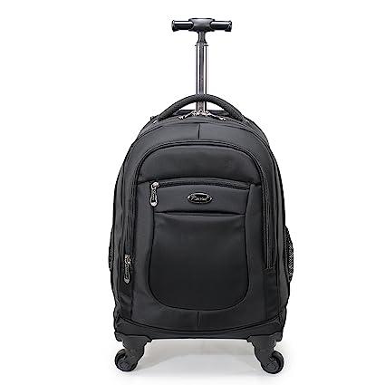 Amazon.com  Racini Nylon Waterproof Rolling Backpack 914635f38e7