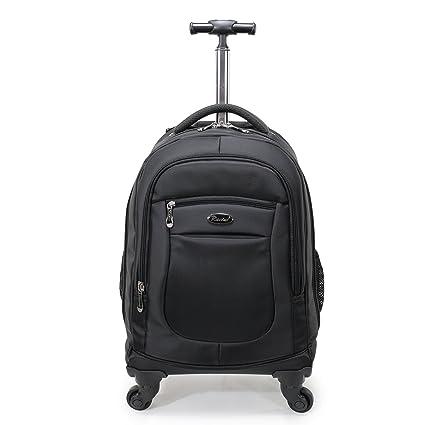 461d5e8957 Amazon.com  Racini Nylon Waterproof Rolling Backpack