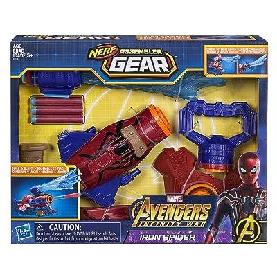 Marvel Avengers: Infinity War Nerf Iron Spider Assembler Gear: Hasbro: Toys & Games