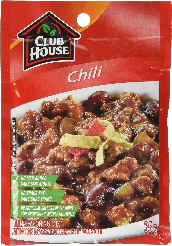 Club House Dry Sauce Seasoning Marinade Mix Chili 35g Packaging May Vary Amazon Ca Grocery