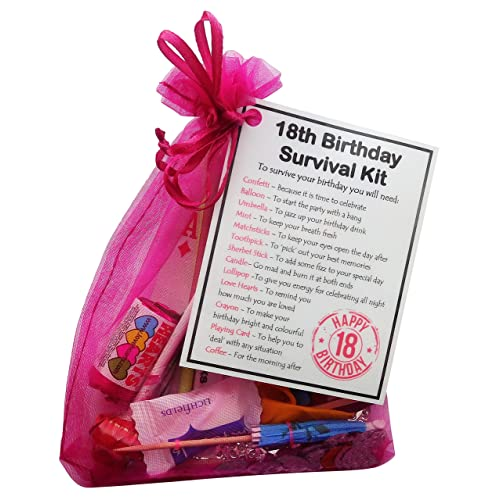 18th Birthday Survival Kit Birthday Gift Novelty Present: 18th Birthday Ideas: Amazon.co.uk