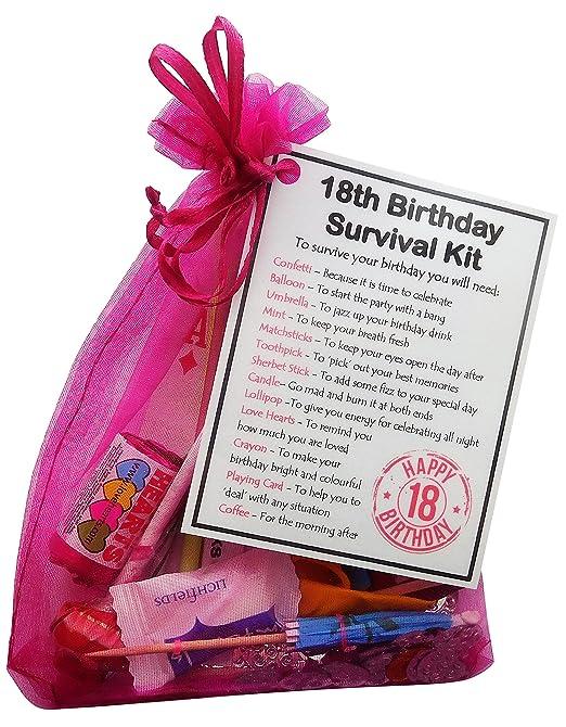 18 cumpleaños de regalo-Equipo de supervivencia de Unique ...