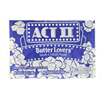 Act II Butter Lovers Microwave Popcorn (30 Packs Of 78 Grams Each)