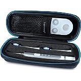 Supremery Tasche für Oral-B Pulsonic Slim Schallzahnbürste Case Schutz-Hülle Etui Tragetasche