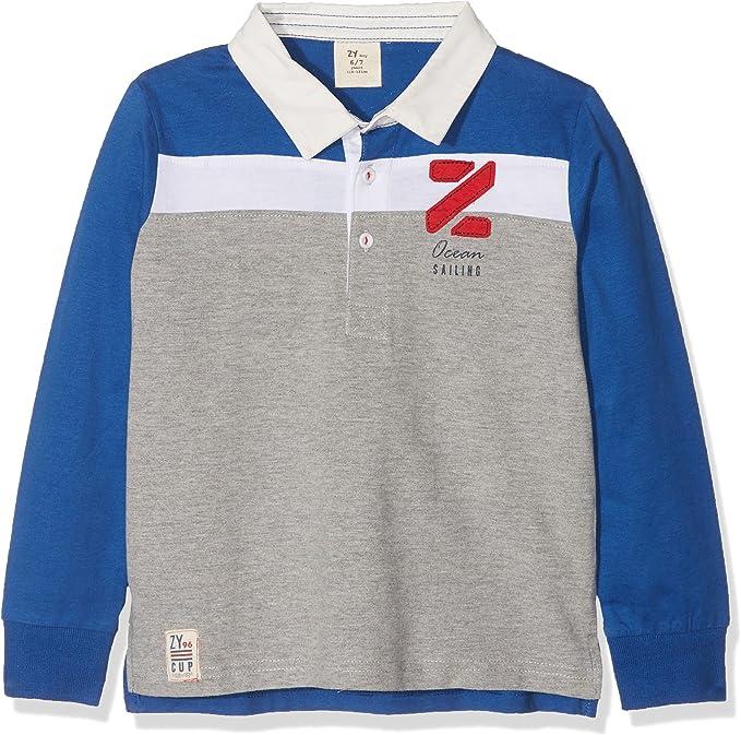 ZIPPY ZB03_430_3 Polo, Azul (Monaco Blue), 4 años (Tamaño del ...