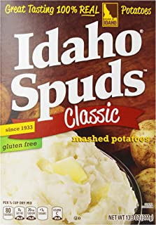 product image for Idaho Spuds Mashed Potatoes, 12 - 13.3-Ounce Boxes