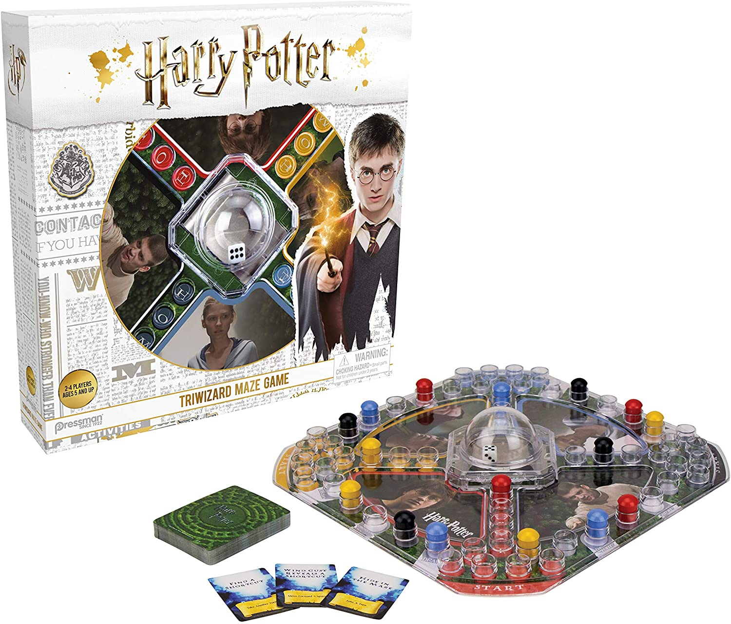 Kids Board Game Harry Potter Classic Fast Action Pop N Race Triwizard Maze Games