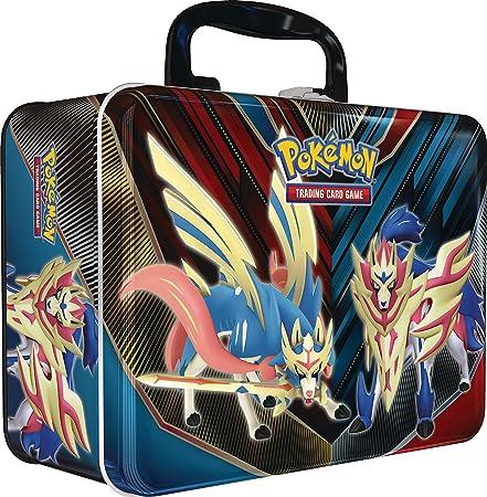 Prepárate para un viaje a la región de Galar en el juego de cartas de Pokémon con un cofre de colecc