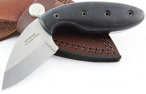Amazon com : Moorhaus D2 Tactical knife - Micarta Handle - Includes