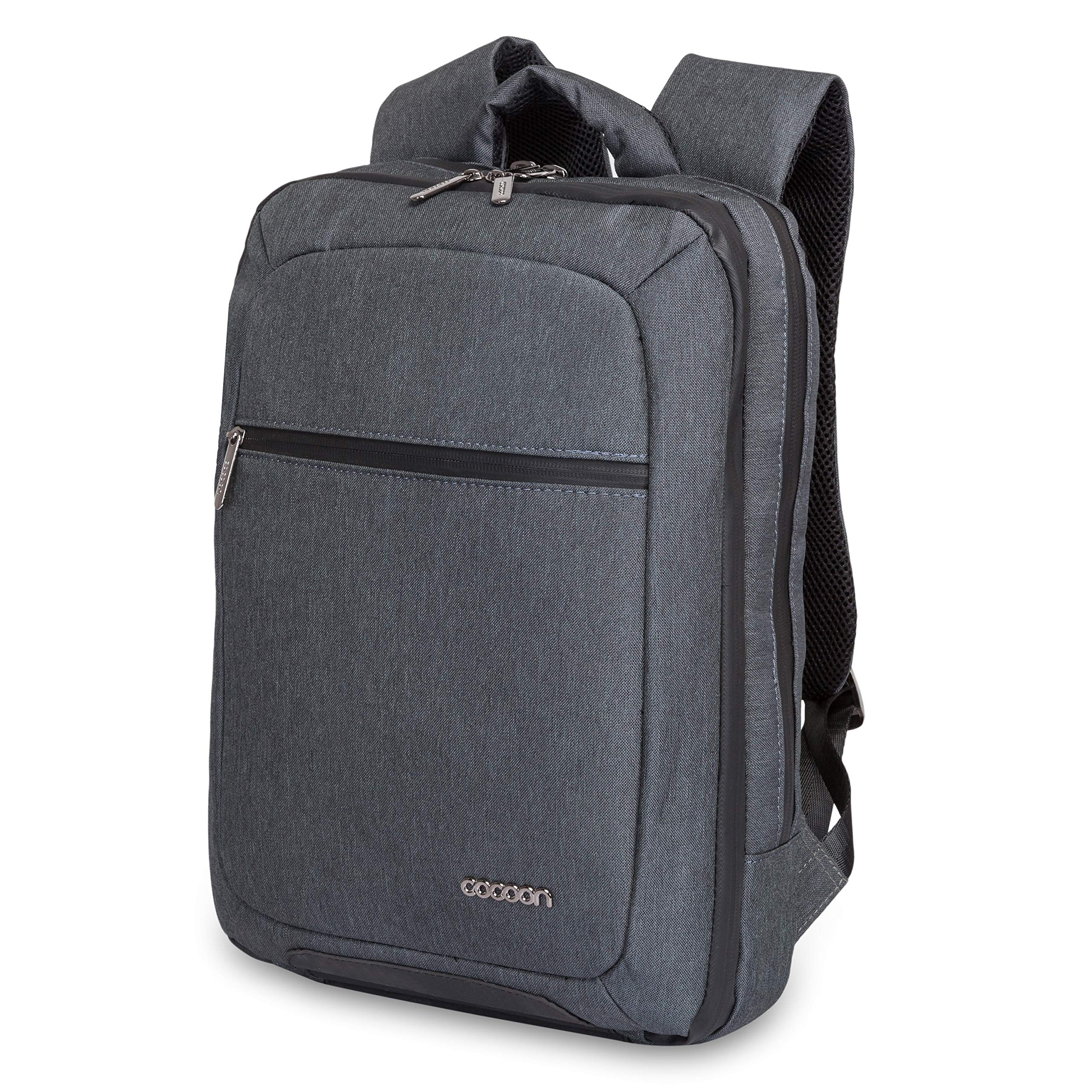 """Cocoon Innovations Slim Backpack with GRID-IT Fits up to 15/"""" Laptop /& Built-i..."""