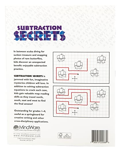 Amazon.com: MindWare Subtraction Secrets: Evelyn Christensen: Toys ...