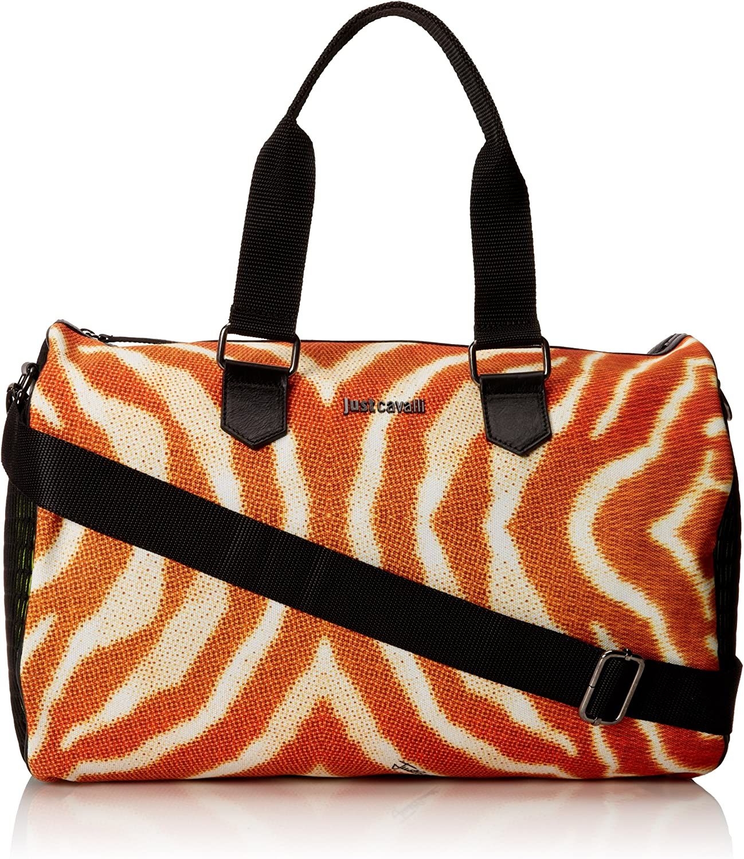 Just Cavalli Men s South Beach Printed Duffle Bag